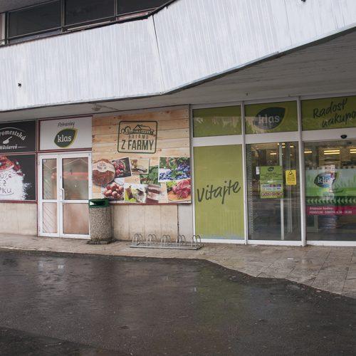 Predajňa potravín Klas Košice - Ural
