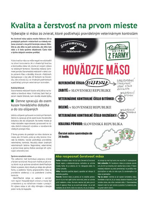 Napísali o nás - Staromestská mäsiareň Košice